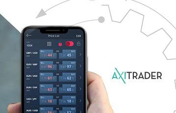 AxiTrader Mobile Plattform