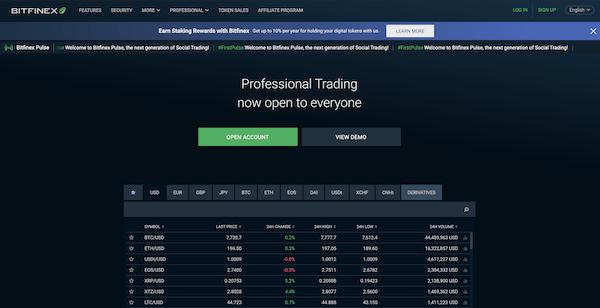 Bitfinex Erfahrungen und Test