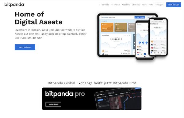 Bitpanda Erfahrungen und Test