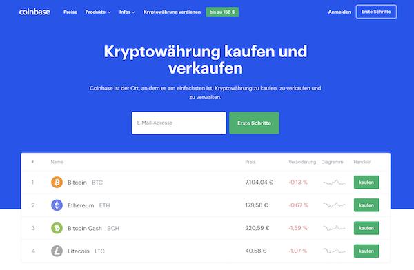 Coinbase Erfahrungen und Test