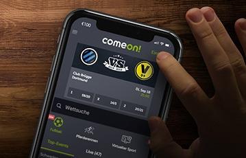 ComeOn Sport App