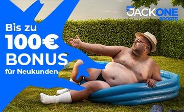 JackOne - Jetzt Sportwetten Bonus sichern!