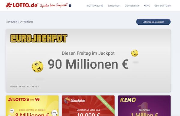 Lotto.de Erfahrungen und Test
