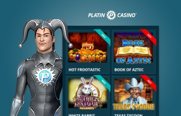 Platin Casino Games