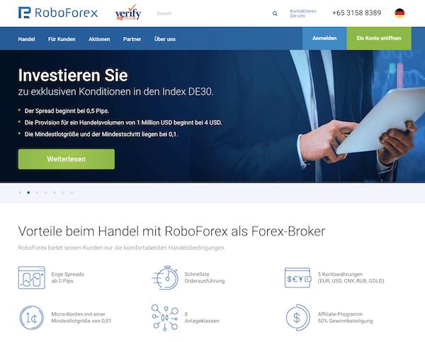 Roboforex Pros und Contras