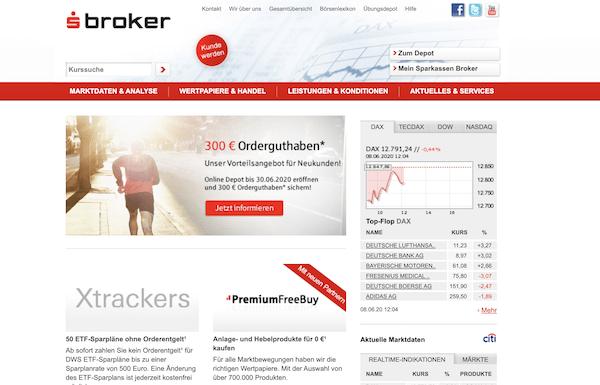 Sparkassen Broker Erfahrungen und Test
