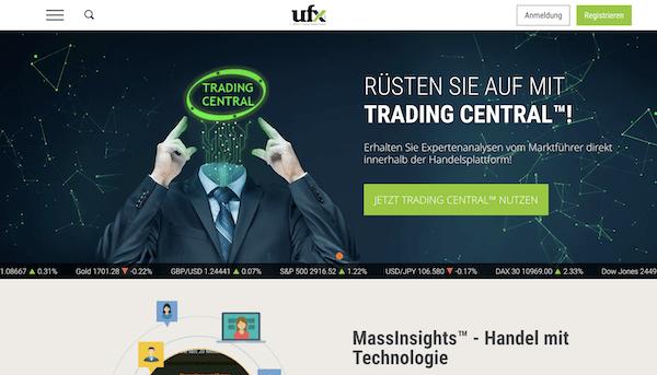 UFX Erfahrungen und Test