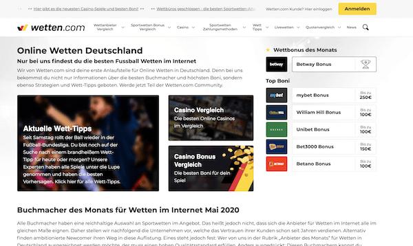Wetten.com Erfahrungen und Test